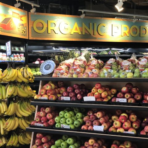 Castro Valley Natural Grocery Produce Section