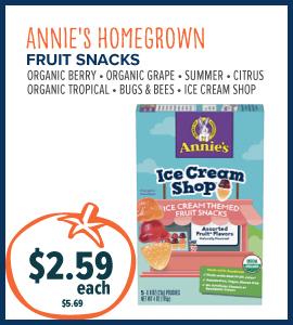 annies fruit snacks