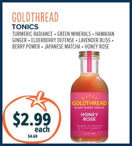 goldthread tonics