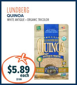 lundberg quinoa