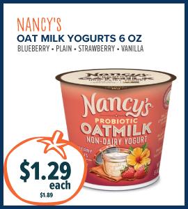 nancy oat yogurt