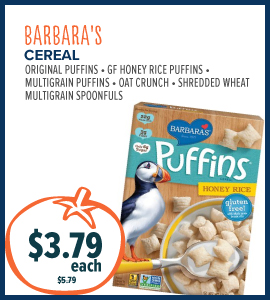 barbaras cereal
