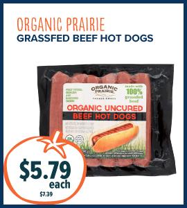 org prairie hot dogs